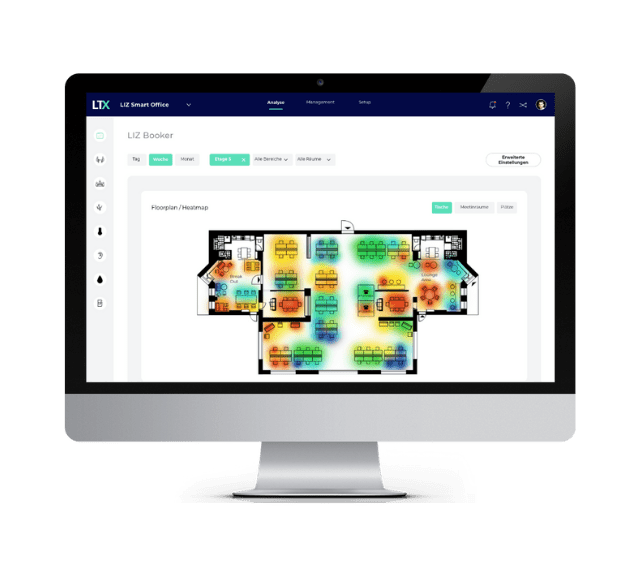 Heatmap view for your floorplan